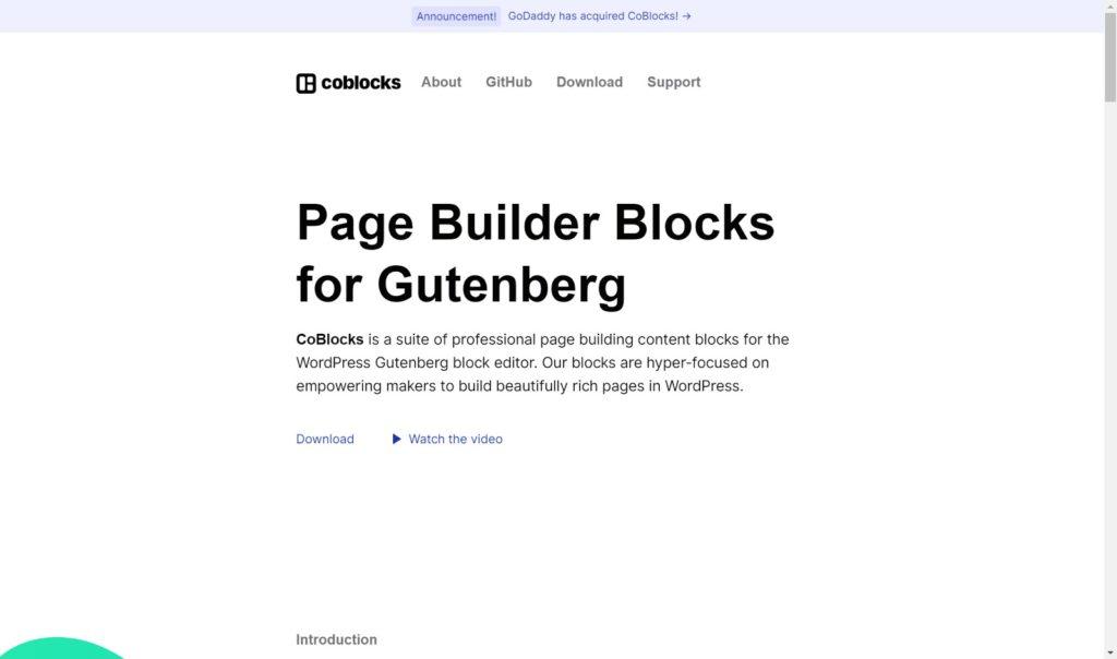 coblocks - The 10 best Gutenberg WordPress plugins for building a website