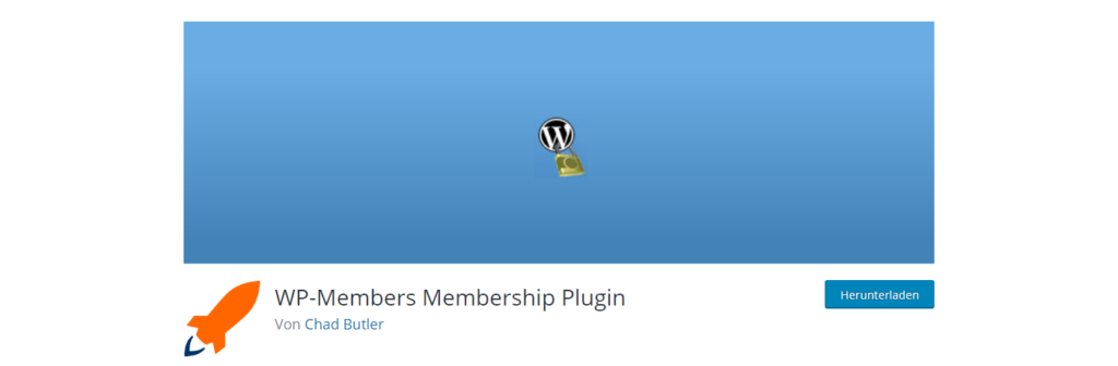 Screenshot of WP-Members