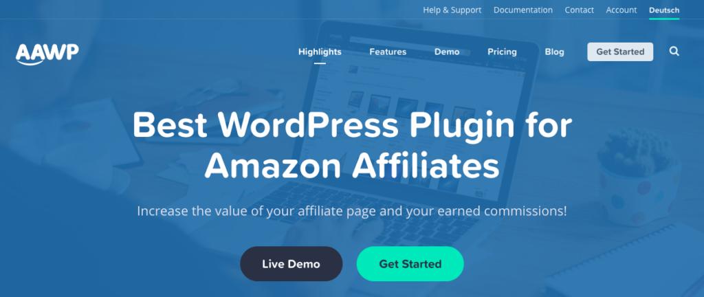 Best WordPress Plugin for Amazon Affiliates