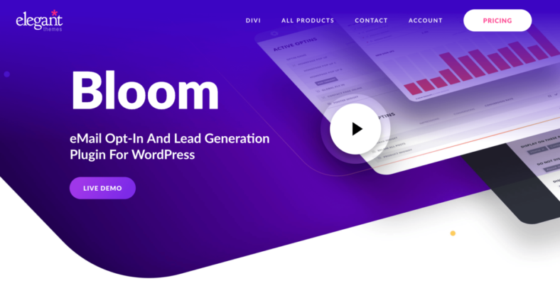 Bloom - eMail Opt-In And Lead Generation Plugin For WordPress