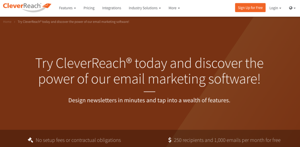 CleverReach - Try CleverReach today and discover the power of our email marketing software!