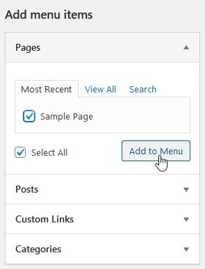 Add a page
