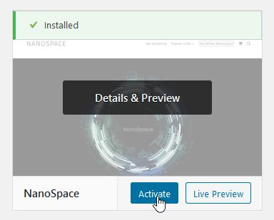 Screenshot click activate