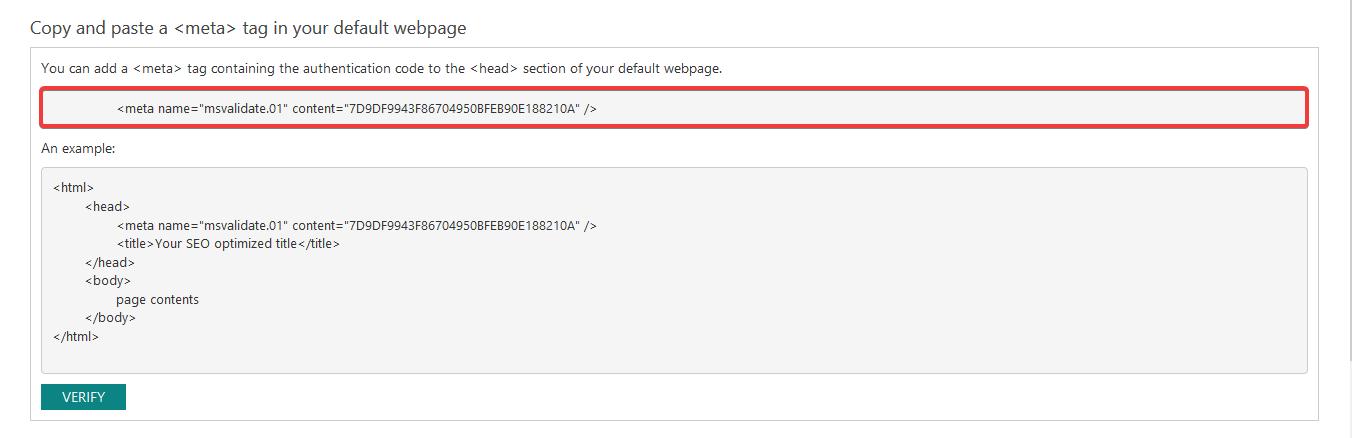 copy a meta tag