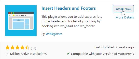 Install the plugin