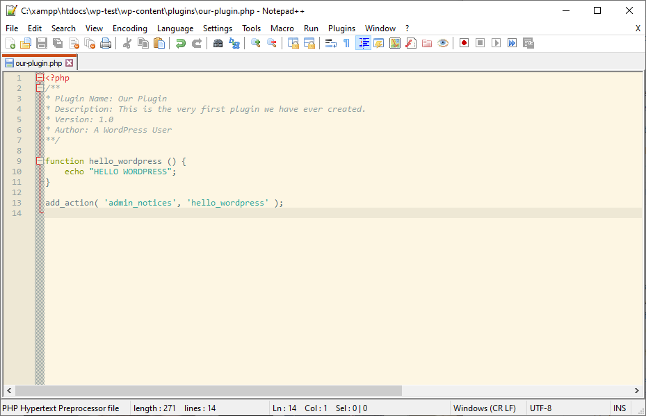 plugin file with the code