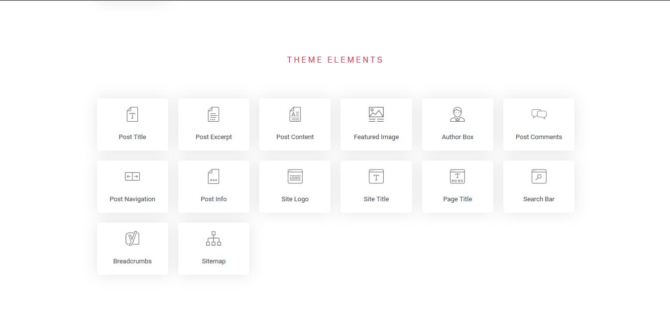 theme elements