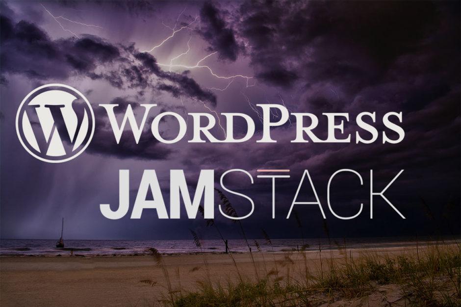 WordPress - JAMStack