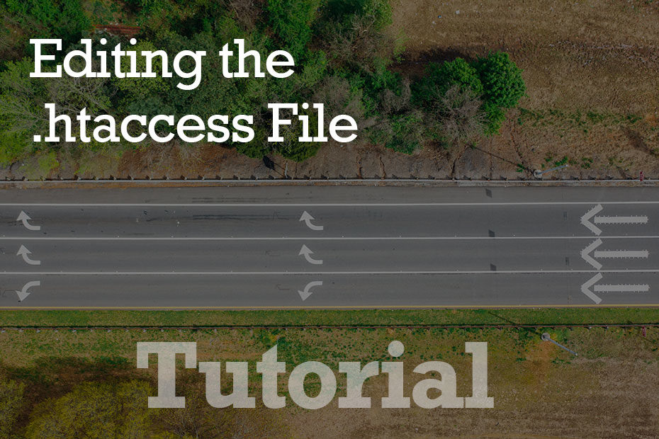 tutorial htaccess - How To Edit the .htaccess File