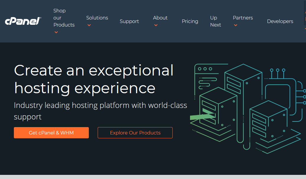 cPanel - Create an exceptional hosting experience