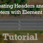 tutorial headers and footers - How To Create Headers and Footers With Elementor Pro